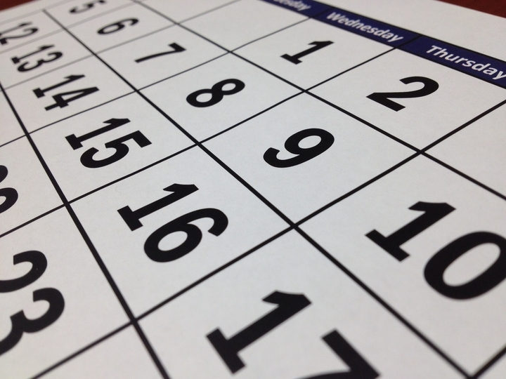 a close up image of a chinese new year calendar